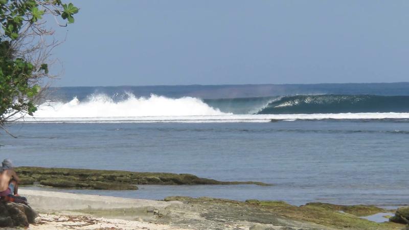 Ujung Bocur surf break 2016 Sumatra