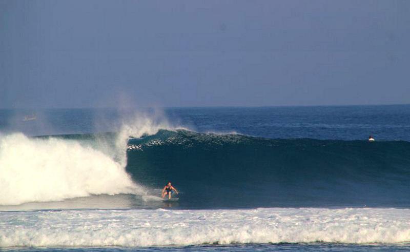 Ujung Bocur surfbreak South Sumatra